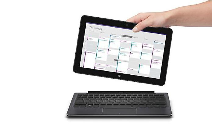 Teclado extra transforma tablet em ultrabook (Foto: Reprodução/Dell)