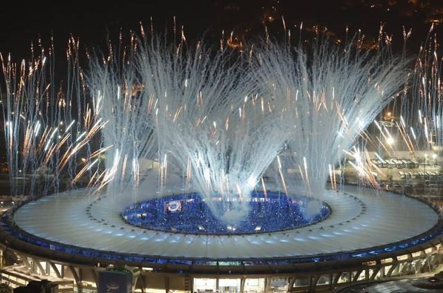 Cerimônia de abertura (Foto: Antonio Scorza/O Globo)