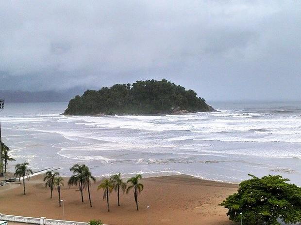 Ilha Urubuqueçaba, Santos (Foto: Ivair Vieira Jr/G1)