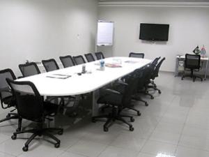 Sala de reunião do CIESP Sorocaba (Foto: Divulgação)