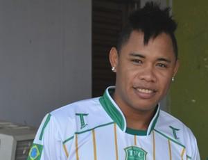 Moisés, atacante do Tapajós (Foto: Gustavo Campos/GloboEsporte.com)