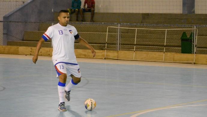 Tiago Canhoto Grêmio Mogi futsal (Foto: Bruno Rocha)
