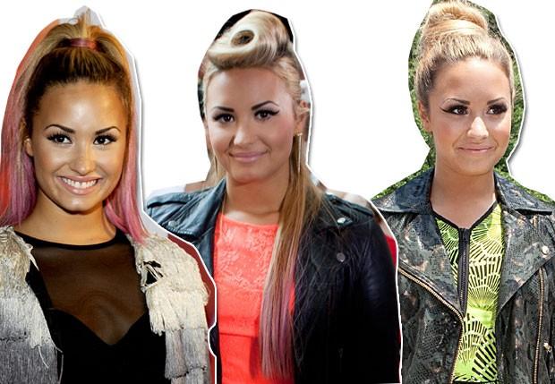 Demi Lovato (Foto: Arte QUEM)