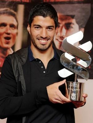 Luis suarez liverpool melhor jogador da temporada (Foto: Reprodução / Site Oficial do Liverpool)