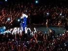 Assista ao vídeo e veja o tombo de Beyoncé em show de São Paulo