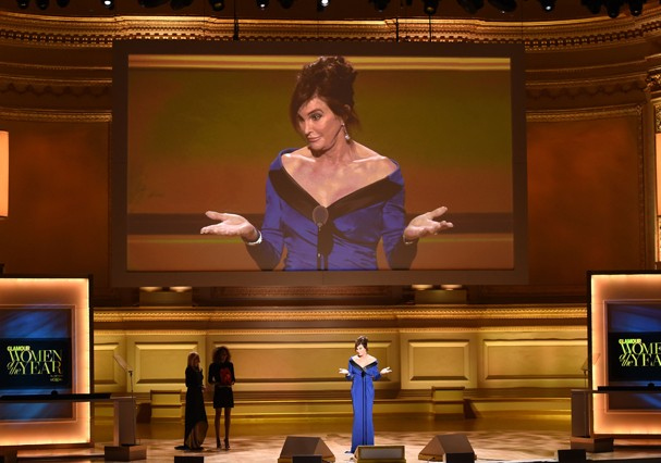Caitlyn Jenner no Women of the Year 2015 (Foto: Getty Images)