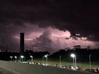 São José dos Campos registra 920 raios durante tempestade