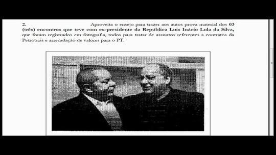 Duque apresenta à Justiça foto de encontro com Lula e diz renunciar de contas no exterior