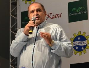 Adilson José da Silva presidente São José Esporte Clube (Foto: Danilo Sardinha/GloboEsporte.com)