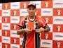 FOTOS: atacante Jael é apresentado à torcida do Joinville