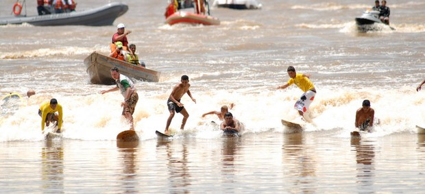 15º Festival da Pororoca terá surf noturno (Foto: Ray Nonato / Arquivo Ag. Pará)
