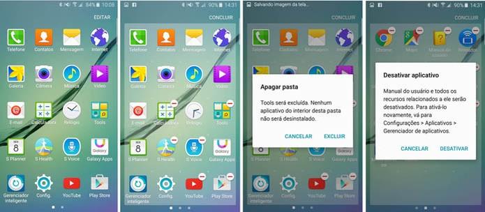 Escolha os apps que você quer no menu do seu Galaxy S6 (Foto: Reprodução/Carol Danelli)