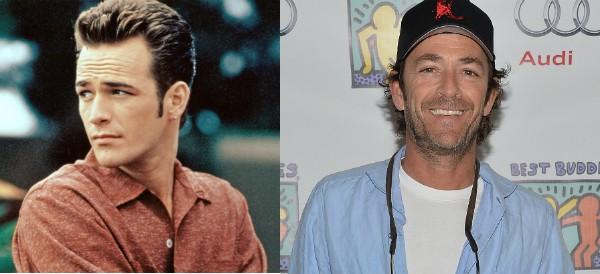 Luke Perry tinha 24 anos no início da série e hoje tem 49 (Foto: Getty Images)