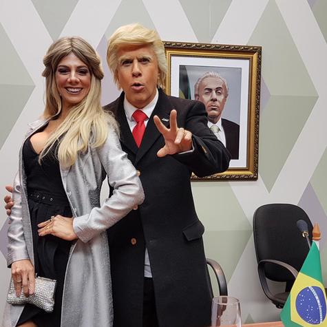 Tom Cavalcante e Bruna Pietronave em 'Multi Tom' (Foto: Divulgação)