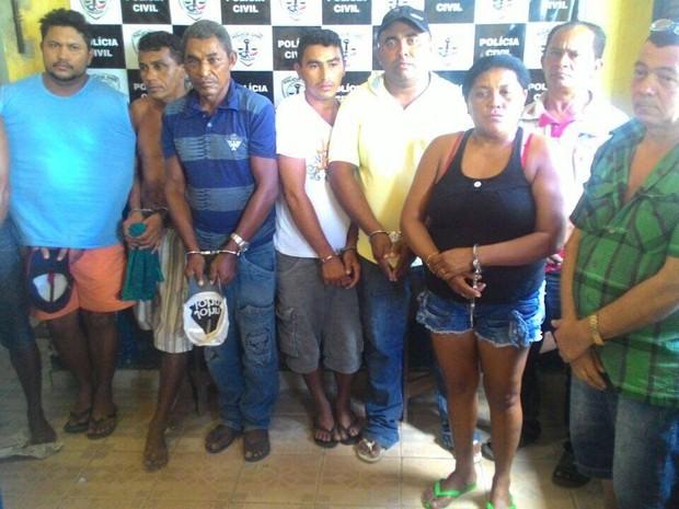Operação de combate ao tráfico prende nove pessoas no interior do MA (Foto: Divulgação/Polícia)