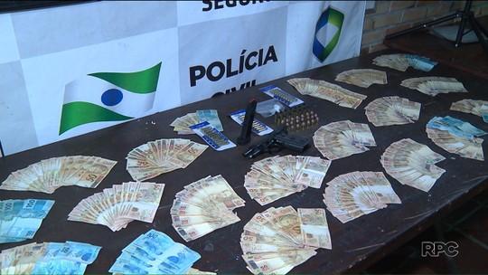 Polícia encontra máquina para lavar notas roubadas de caixa eletrônico