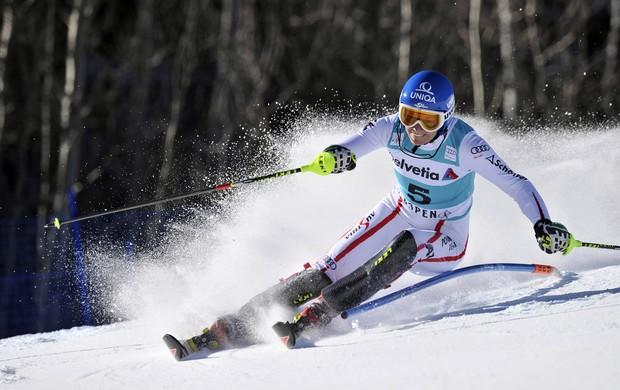 A vitória de Zettel impediu que Marlies Schild conquistasse sua 34ª vitória no esqui alpino (Foto: Getty Images)