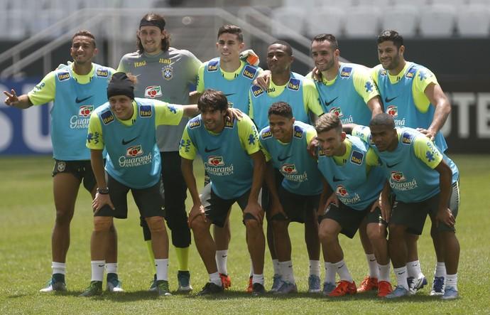 Treino Seleção Brasil Arena Corinthians (Foto: André Mourão / MoWA Press)