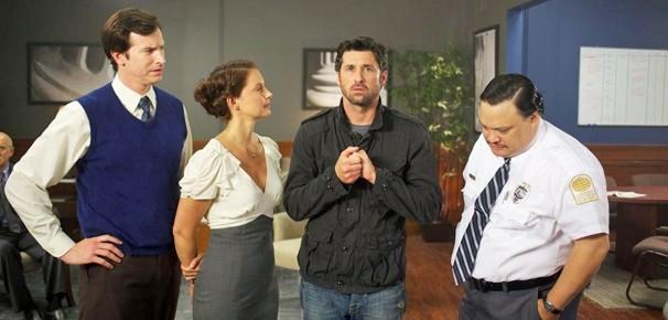 Patrick Dempsey e Ashley Judd se juntam para escapar de um assalto no Supercine deste sábado, dia 29 (Foto: Divulgação)