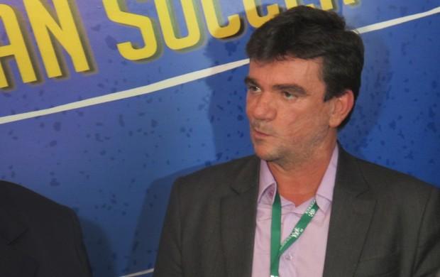 Andres Sanchez soccerex (Foto: Alexandre Alliatti/Globoesporte.com)