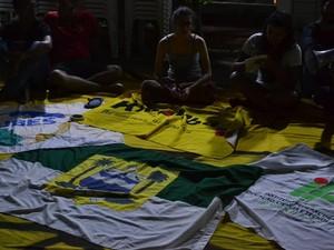 Ocupação acontece desde a noite desta quarta-feira (28) (Foto: Divulgação)