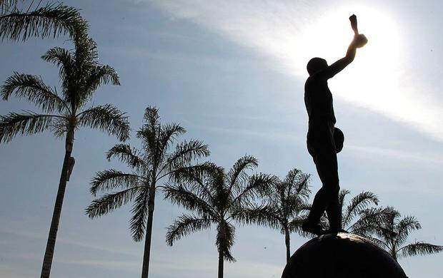 estátua Bellini Maracanã estádio (Foto: Domingos Peixoto / Agência O Globo)
