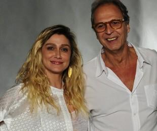 Amora Mautner e Euclydes Marinho   Estevam Avellar/TV Globo