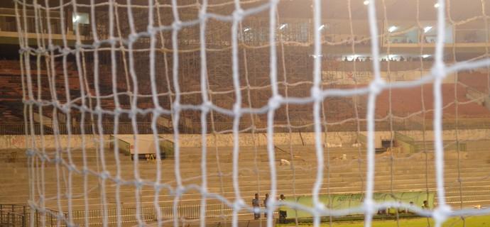 Estádio Almeidão, FPF, Federação Paraibana de Futebol (Foto: Hévilla Wanderley / GloboEsporte.com/pb)