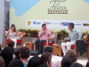 'Somos de uma cultura política do compadre', diz Wilson Gomes na Flica (Ruan Melo/G1)
