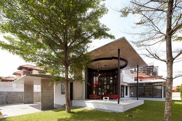 Casa moderna se abre para a natureza casa vogue casas for Casa moderna open