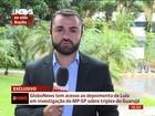 Lula pede ao MP-SP para falar sobre sítio a autoridade 'imparcial'