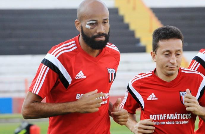 Nunes e Guaru (Foto: Luis Augusto/Ag. Botafogo)