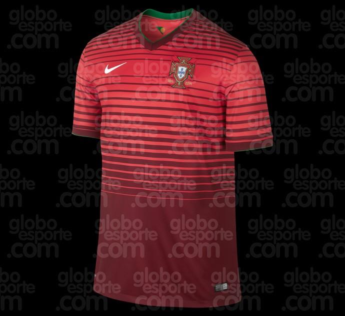 Camisa portugal copa do mundo 2014