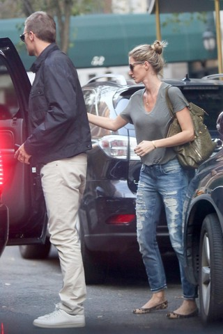 Gisele e Tom (Foto: Grosby Group)