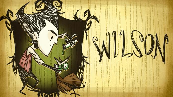 Wilson (Foto: Reprodução/Steam Trade Card Wikia)