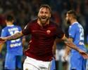 De Rossi marca em jogo 500, Roma vence Empoli e cola na Fiorentina