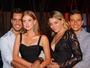 Marina Ruy Barbosa posa com o namorado e a amiga Luma Costa