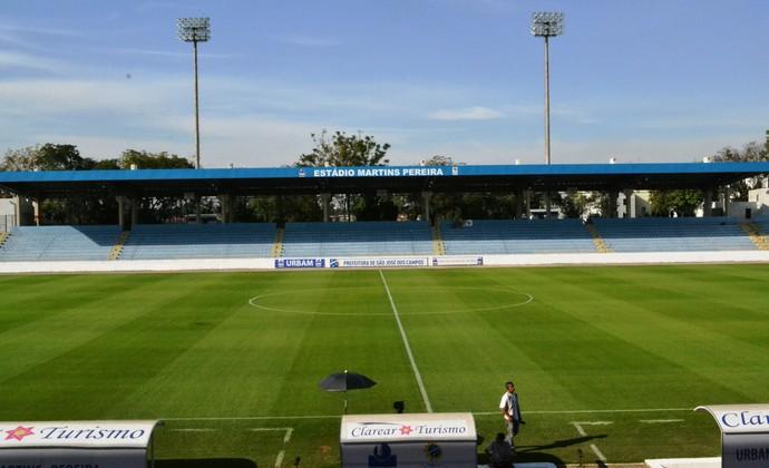 Estádio Martins Pereira - São José dos Campos (Foto: Felipe Kyoshy/GloboEsporte.com)