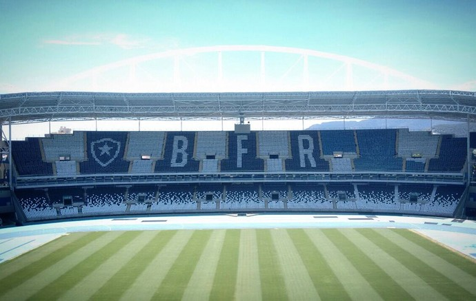 Estádio Nilton Santos Engenhão (Foto: Twitter/Botafogo)