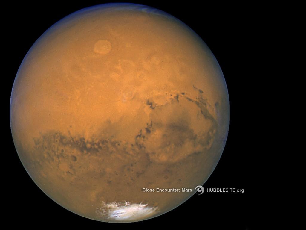 Marte (Foto: NASA, ESA, STScI/AURA)