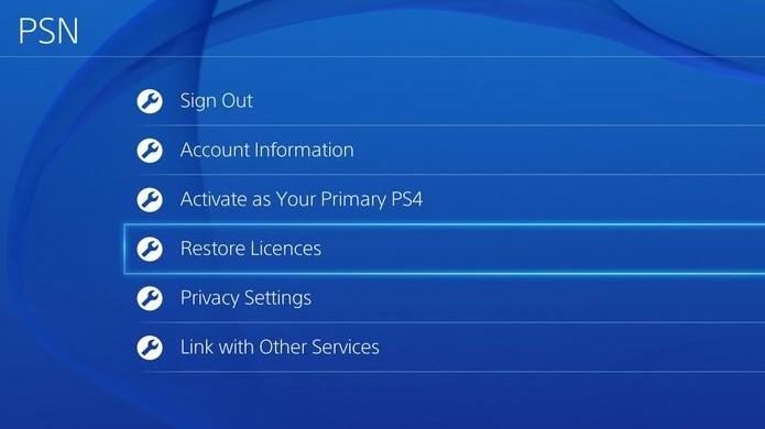 Restaurar licenças da PSN pode resolver problemas com conteúdos digitais (Foto: Web Niraj)