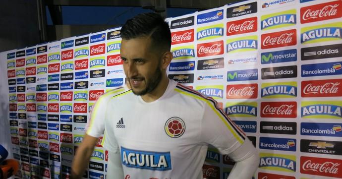 Camilo Vargas, goleiro do Deportivo Cali e da seleção da Colômbia (Foto: Daniel Mundim)