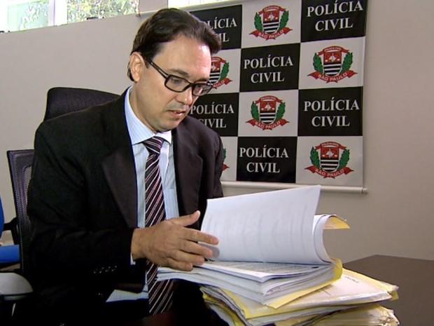 O inquérito instaurado pelo delegado Plácio Fernandes durou quatro anos e foi concluído nesta terça-feira (26) (Foto: Cláudio Oliveira/ EPTV)