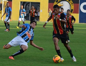 Ricardo Lopes - atacante do Globo FC (Foto: Canindé Pereira/Divulgação)