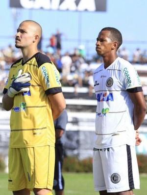 Marcão e Lucas Bahia, jogadores do ASA (Foto: Arquivo pessoal)