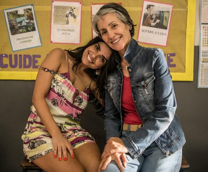 Vanessa Giácomo e Cassia Kis estarão em A Regra do Jogo (Foto: Inácio Moraes / Gshow)