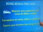 Táxis de SP terão de aceitar cartões e poderão transportar bicicletas
