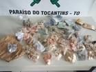 Homem é preso com R$ 16 mil após roubo a agência dos Correios no TO