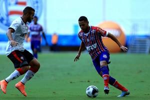 José Welison; Èder; Bahia; Vitória; arena fonte nova; ba-vi (Foto: Felipe Oliveira/Divulgação/EC Bahia)