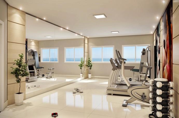 Espaço fitness (Foto: Divulgação)